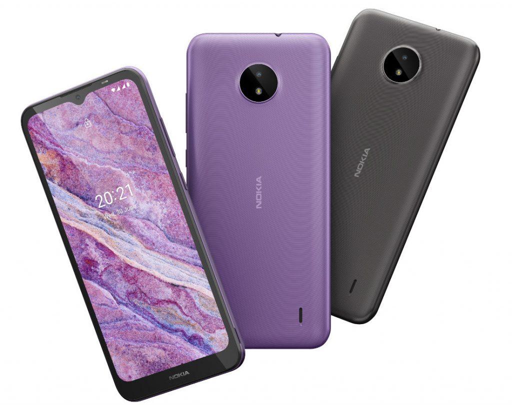 Дебютировали бюджетные смартфоны Nokia C10 и C20
