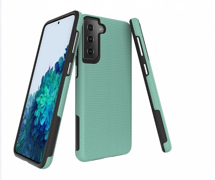 Samsung Galaxy S21 показан на качественных фото