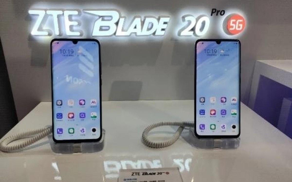 ZTE показала смартфон Blade 20 Pro 5G с чипсетом Snapdragon 765G