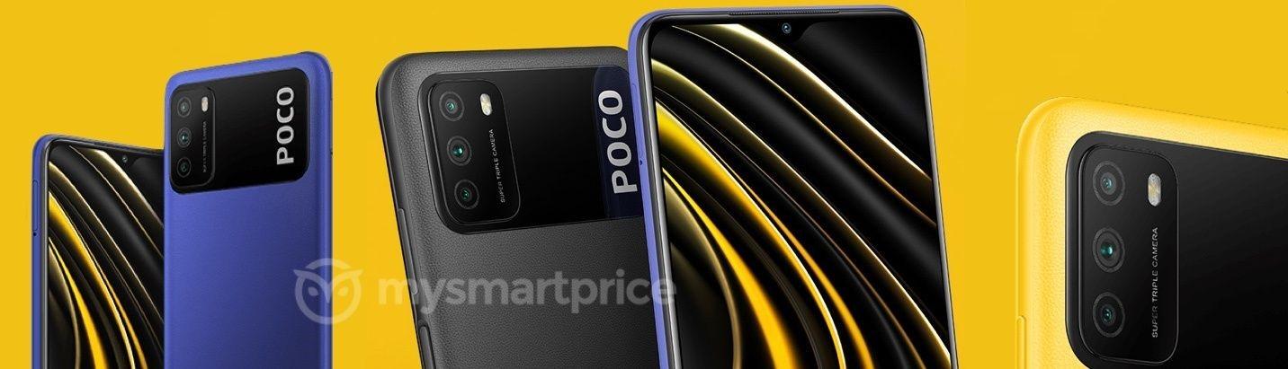 Опубликованы официальные фото смартфона POCO M3