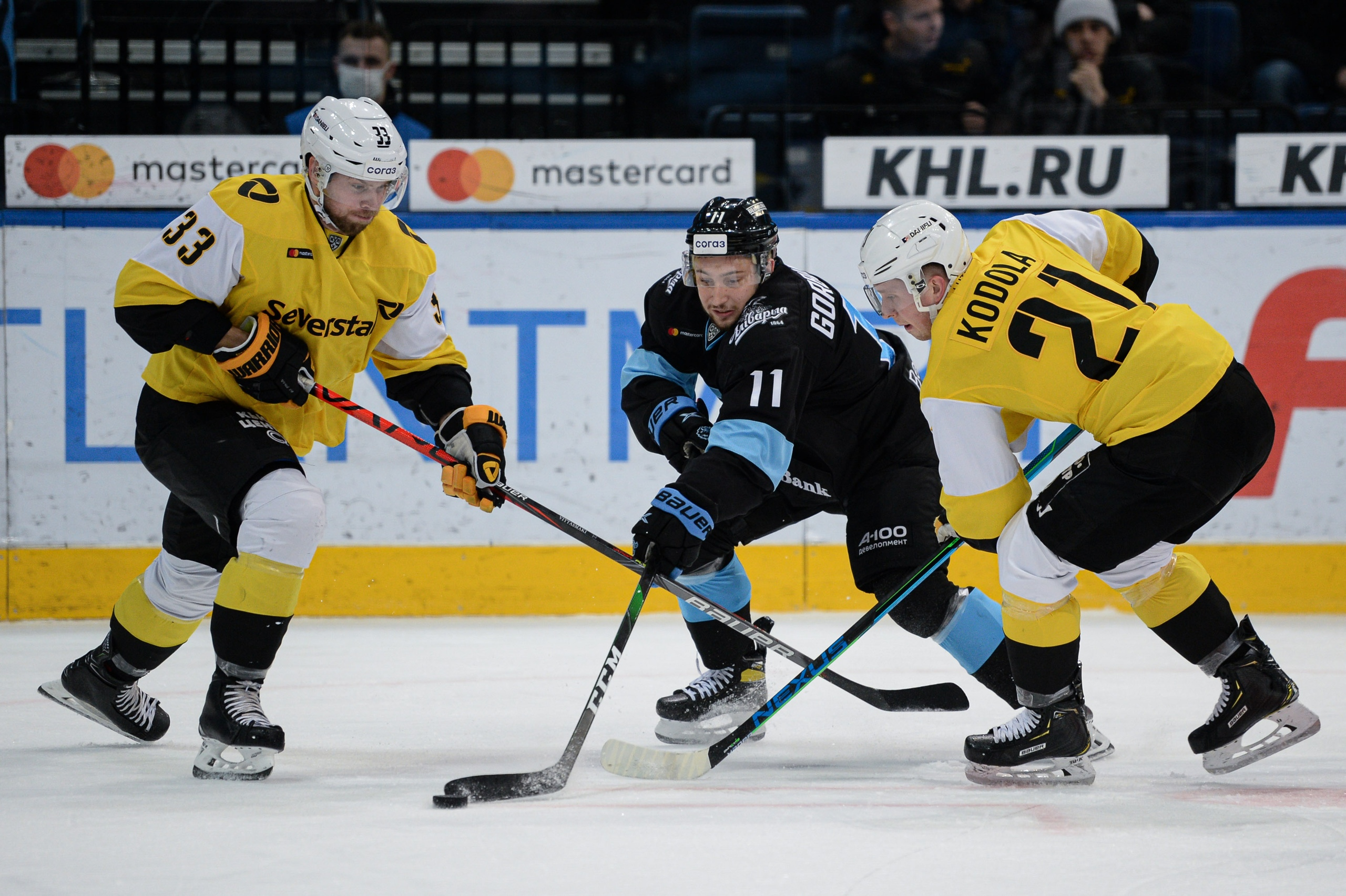 Минское 'Динамо' и 'Северсталь' вышли в плей-офф КХЛ