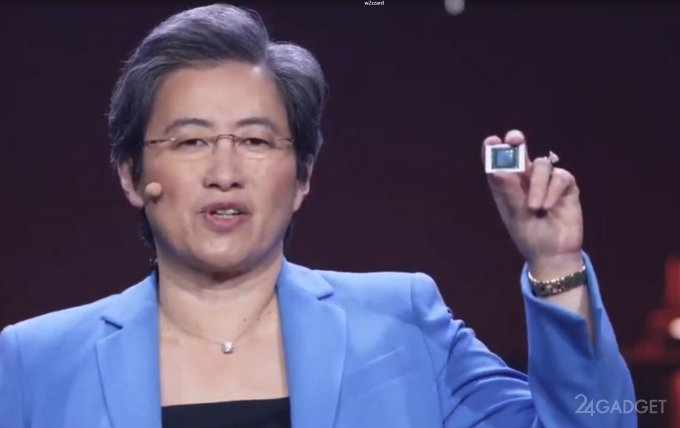 AMD представила новые процессоры AMD Ryzen 5000-й серии и видеокары AMD Radeon RX 6700 (12 фото)
