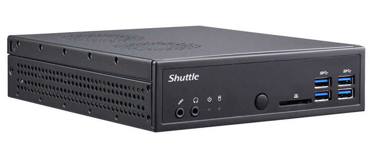 Представлен неттоп Shuttle XPC slim DA320 с десктопным AMD Ryzen и 1,3-литровым корпусом
