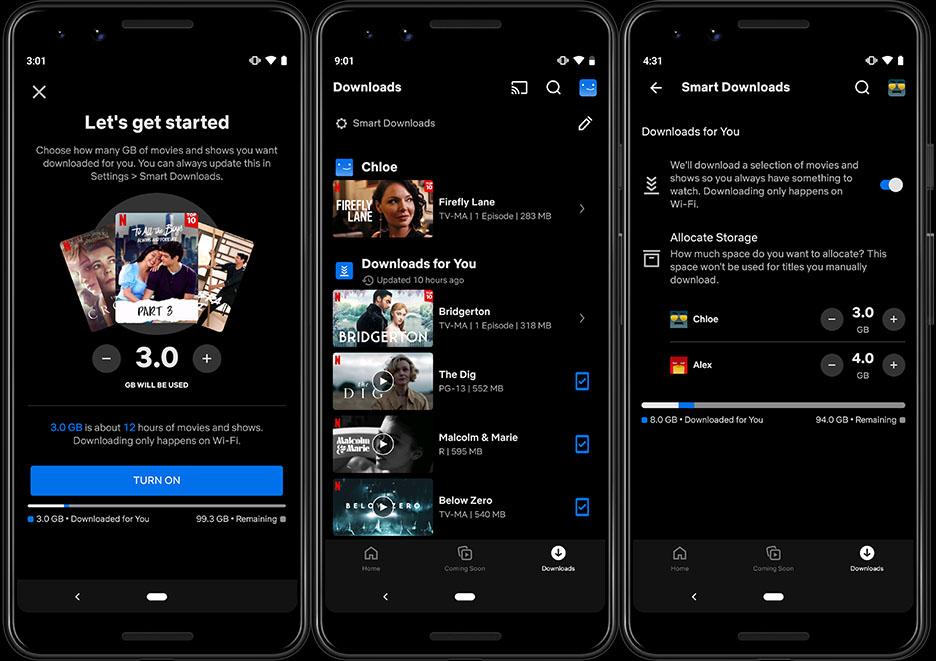 Netflix начнёт автоматически загружать рекомендованные шоу на устройства пользователей