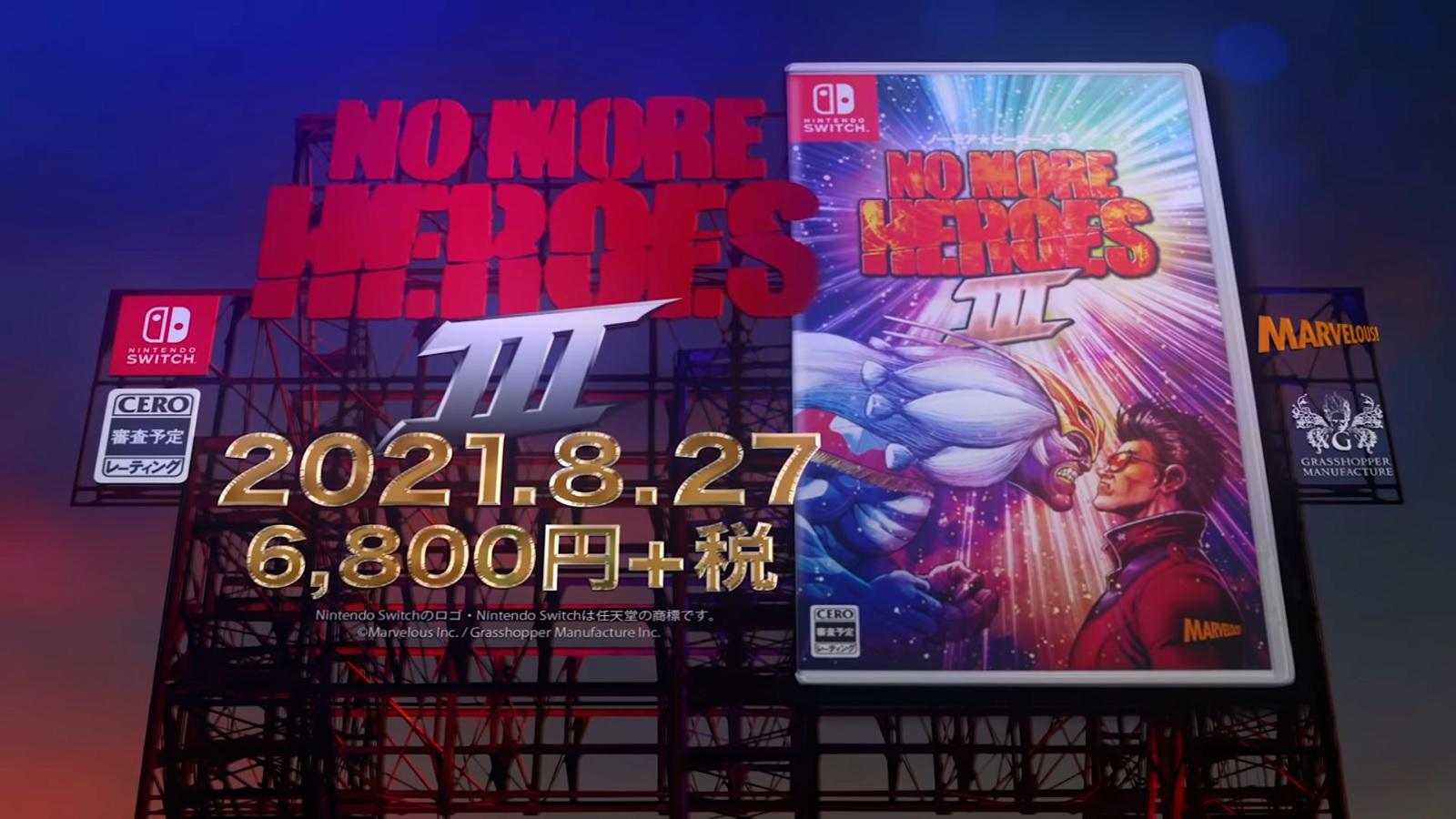 Видео: краткая история серии и свежие геймплейные кадры в новом трейлере No More Heroes 3