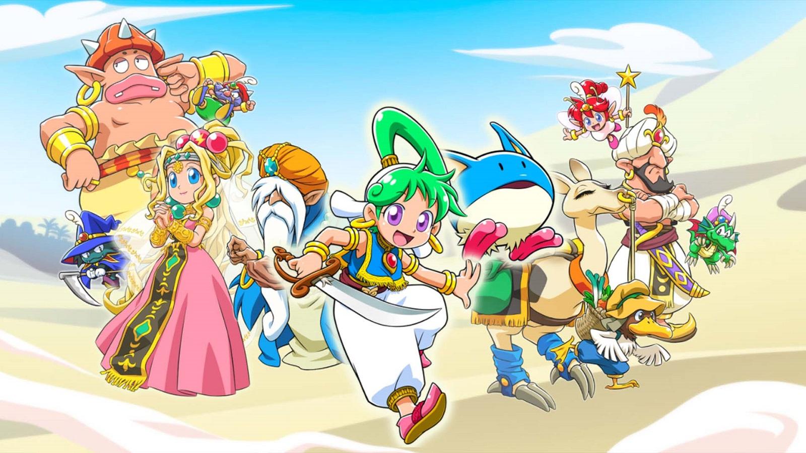 Wonder Boy: Asha in Monster World получила точную дату релиза на Западе — ПК-версия выйдет позже консольных