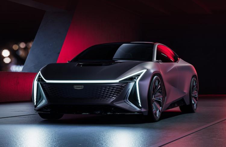 Geely показала футуристический концепт Vision Starburst — электромобиль будущего с обилием RGB-подсветки