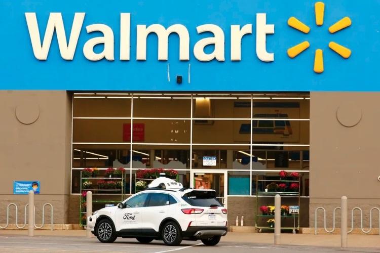 Ford и Walmart запустят в США службу доставки с помощью беспилотных авто