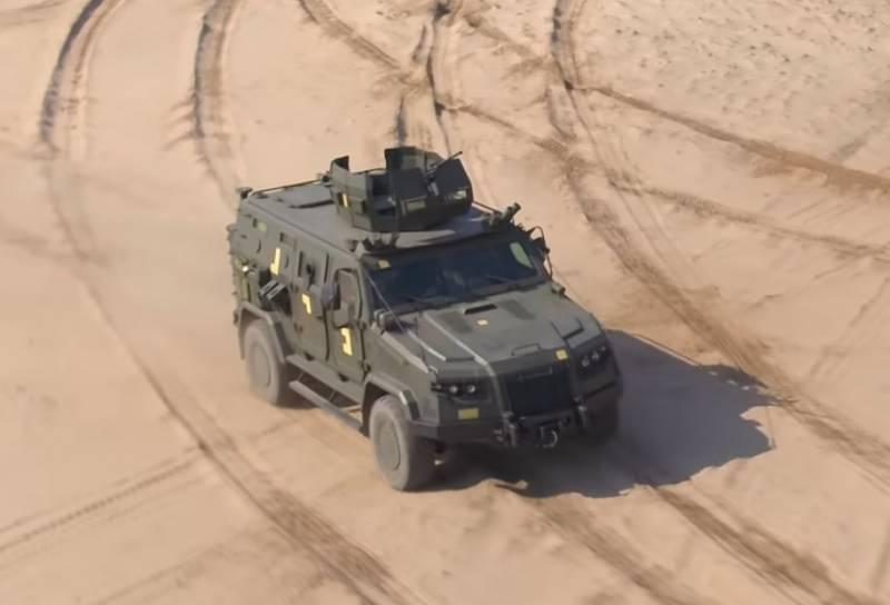 Украинские спецподразделения получат бронеавтомобили «Казак-2М1»