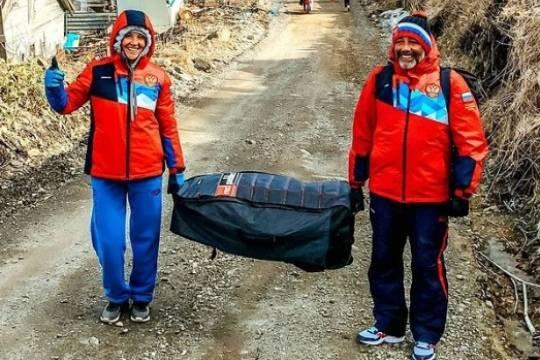 В Японии потребовали отстранить от Олимпиады российских сёрфингистов после тренировки на Курилах