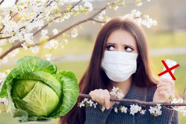Аллергия на ноль! Капуста помогает пережить весеннее обострение