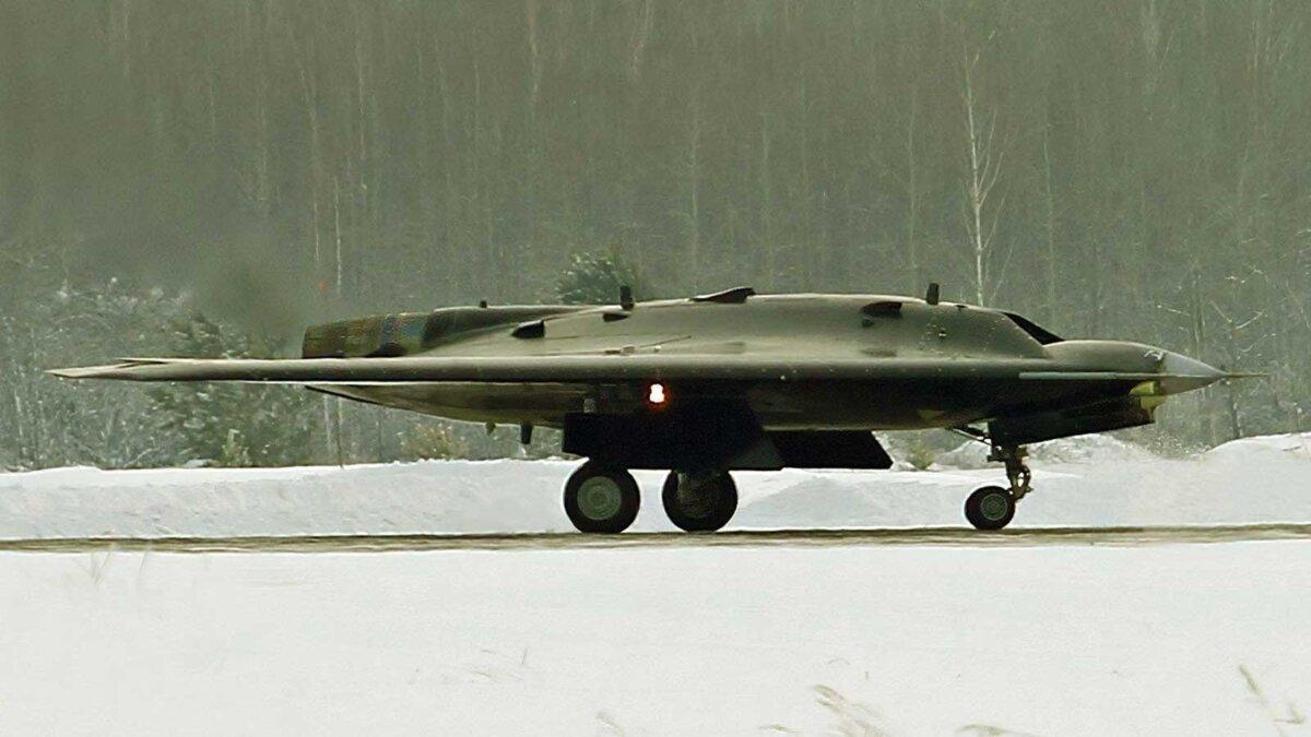 Российский военный беспилотник нанёс бомбовый удар
