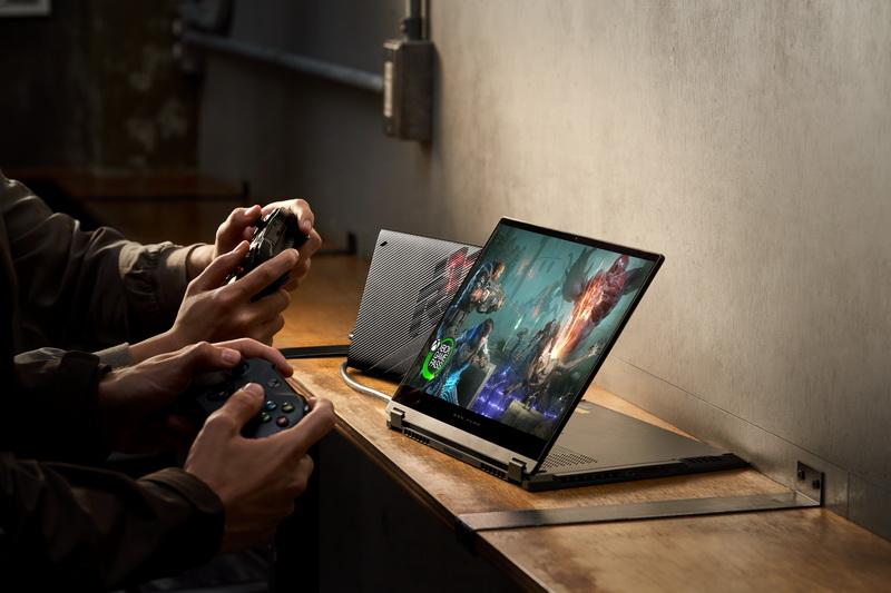 ROG Flow X13 — тонкий и лёгкий геймерский ноутбук-трансформер с внешней видеокартой