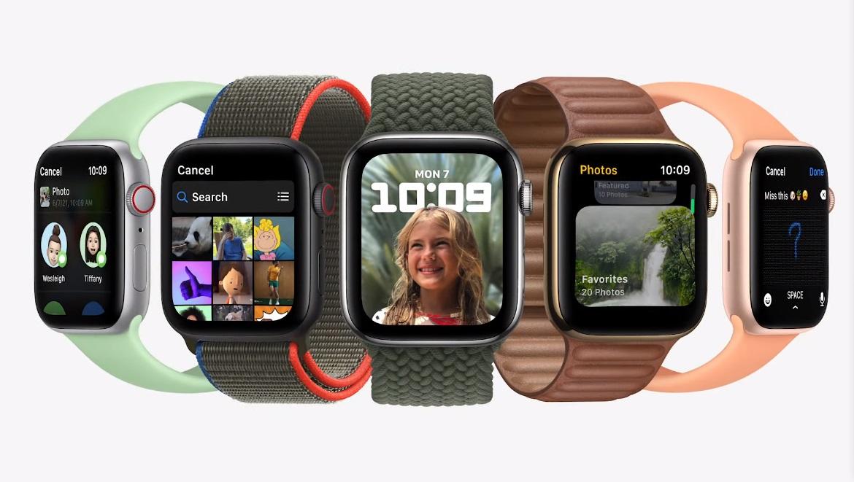 watchOS 8 — крупное обновление для Apple Watch