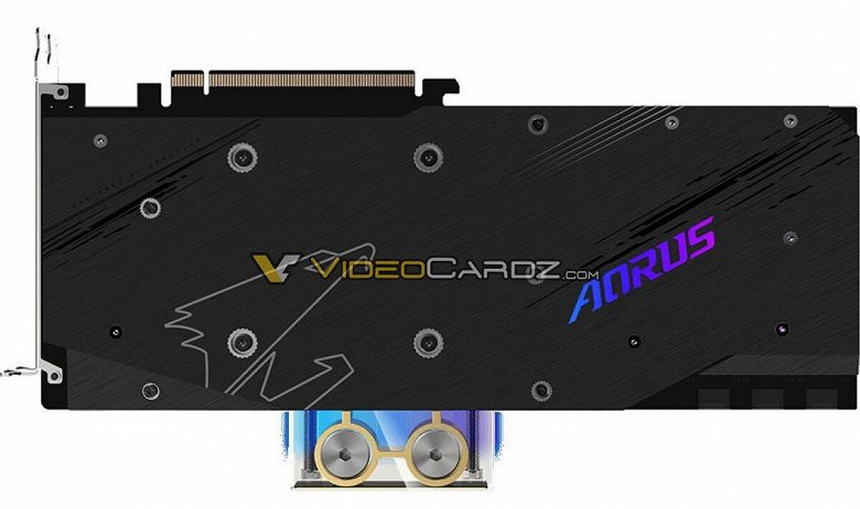 Карта Gigabyte Radeon RX 6900 XT Aorus Xtreme WaterForce WB будет оснащена водоблоком