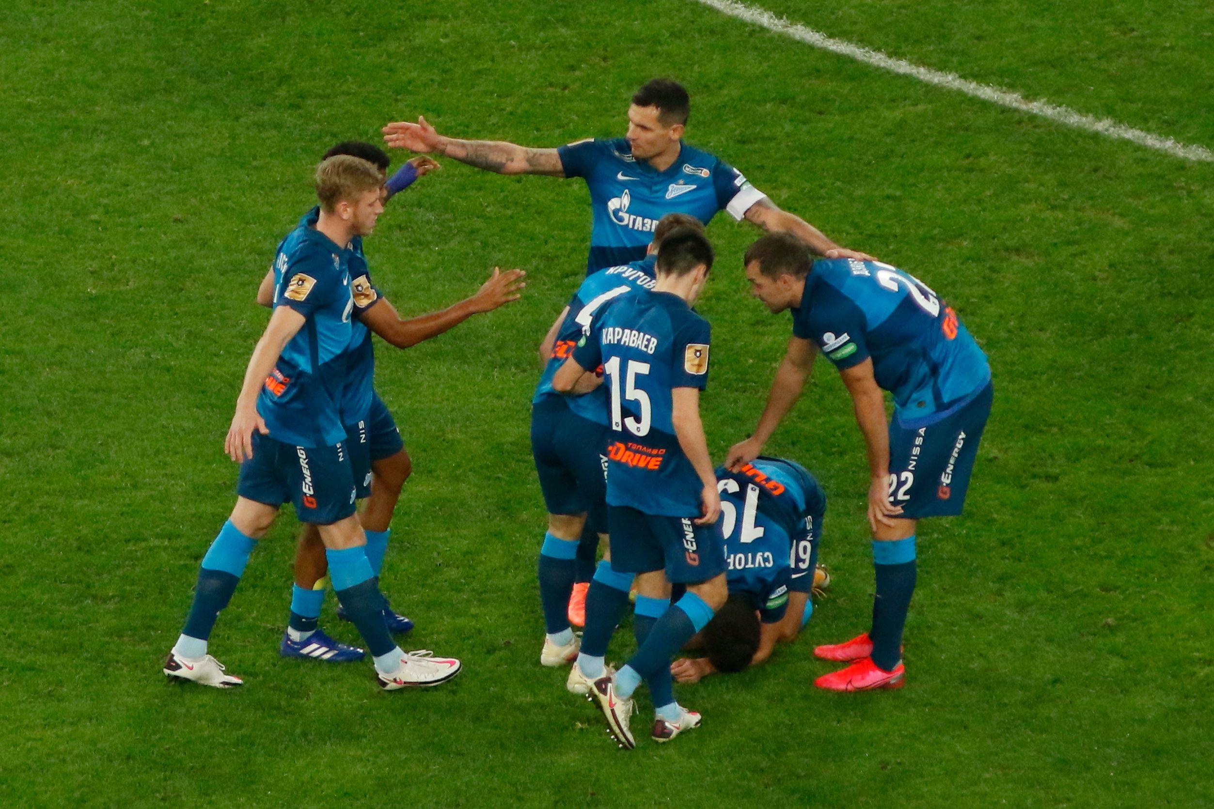 Как 'Зенит' проиграл 'Лацио' - 1:3: все голы матча. ВИДЕО