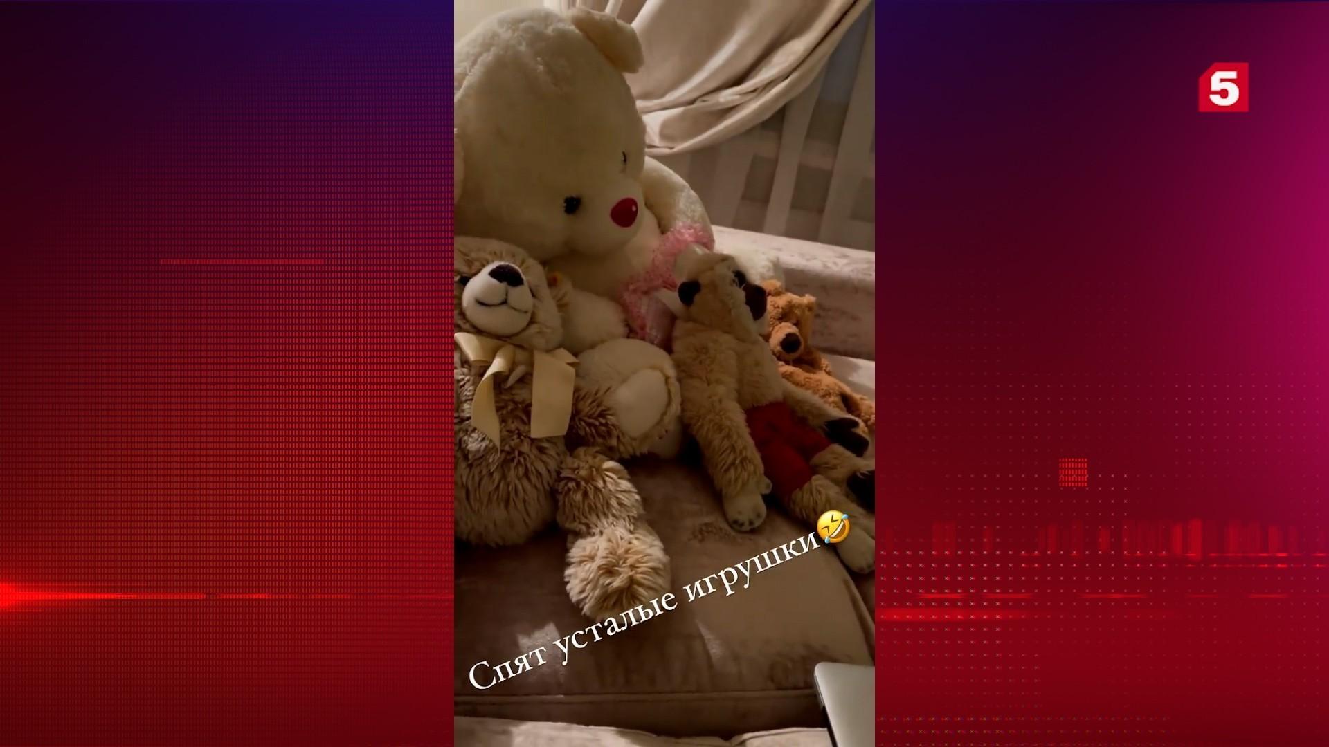 Анастасия Волочкова показала свои игрушки пользователям сети