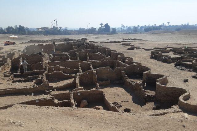 Открытие «затерянного Золотого города» в Египте