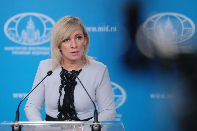 Захарова: соглашение США и Германии по СП-2 не помешает реализации проекта