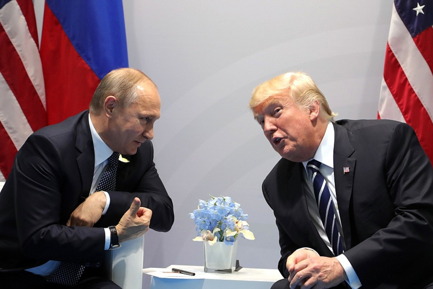 Путин: Трамп - яркая личность
