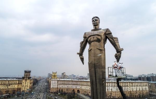 Сергунина: в 2022 году начнется реставрация памятника Юрию Гагарину на Ленинском проспекте