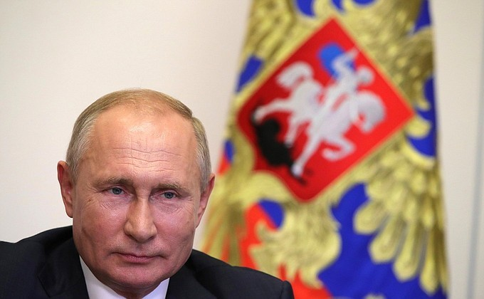 Путин рассказал об отношении к заявлениям Байдена в его адрес