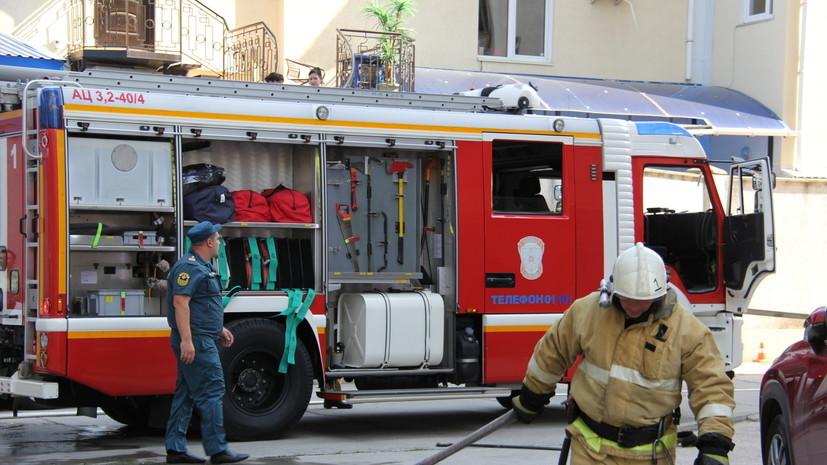 МЧС опровергло гибель трех человек при пожаре в московской гостинице