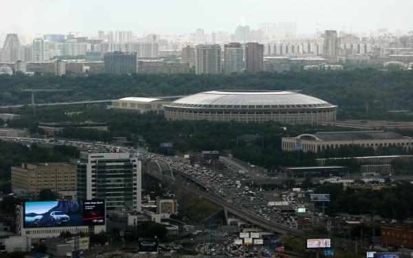 Андрей Бочкарёв: 22 объекта построено и реконструировано в «Лужниках» с 2014 года