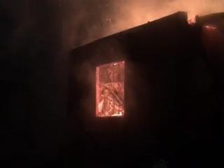 Двое детей и их отец заживо сгорели под Солнечногорском