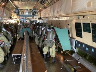 В Псковской области прошли учения десантников