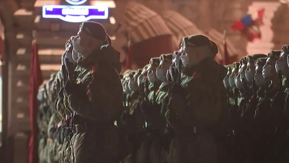 Вторая ночная репетиция парада Победы завершилась в Москве