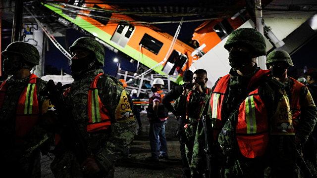 Reuters (Великобритания): обрушение метромоста в Мехико