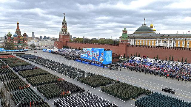 Парад в честь 76-летия Победы в Великой Отечественной войне