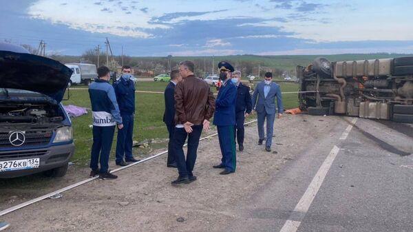 Водителя автобуса отправили под домашний арест после ДТП на Ставрополье