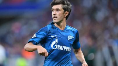 Источник: Жирков уйдёт из «Зенита» после окончания сезона