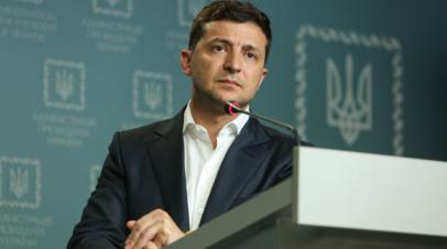 Зеленский заявил о «войне в Европе» из-за Крыма и Донбасса