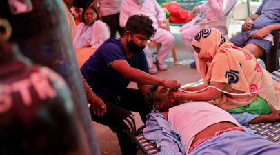 Суд в Индии назвал «геноцидом» промедление с поставками кислорода