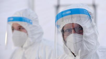 В Германии за сутки выявили более 18 тысяч случаев коронавируса