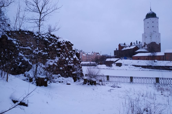 В Выборге разрушается древняя крепость, которую строил прадед Пушкина