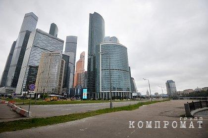 21-летняя девушка выпала с 86 этажа башни в «Москва-Сити»