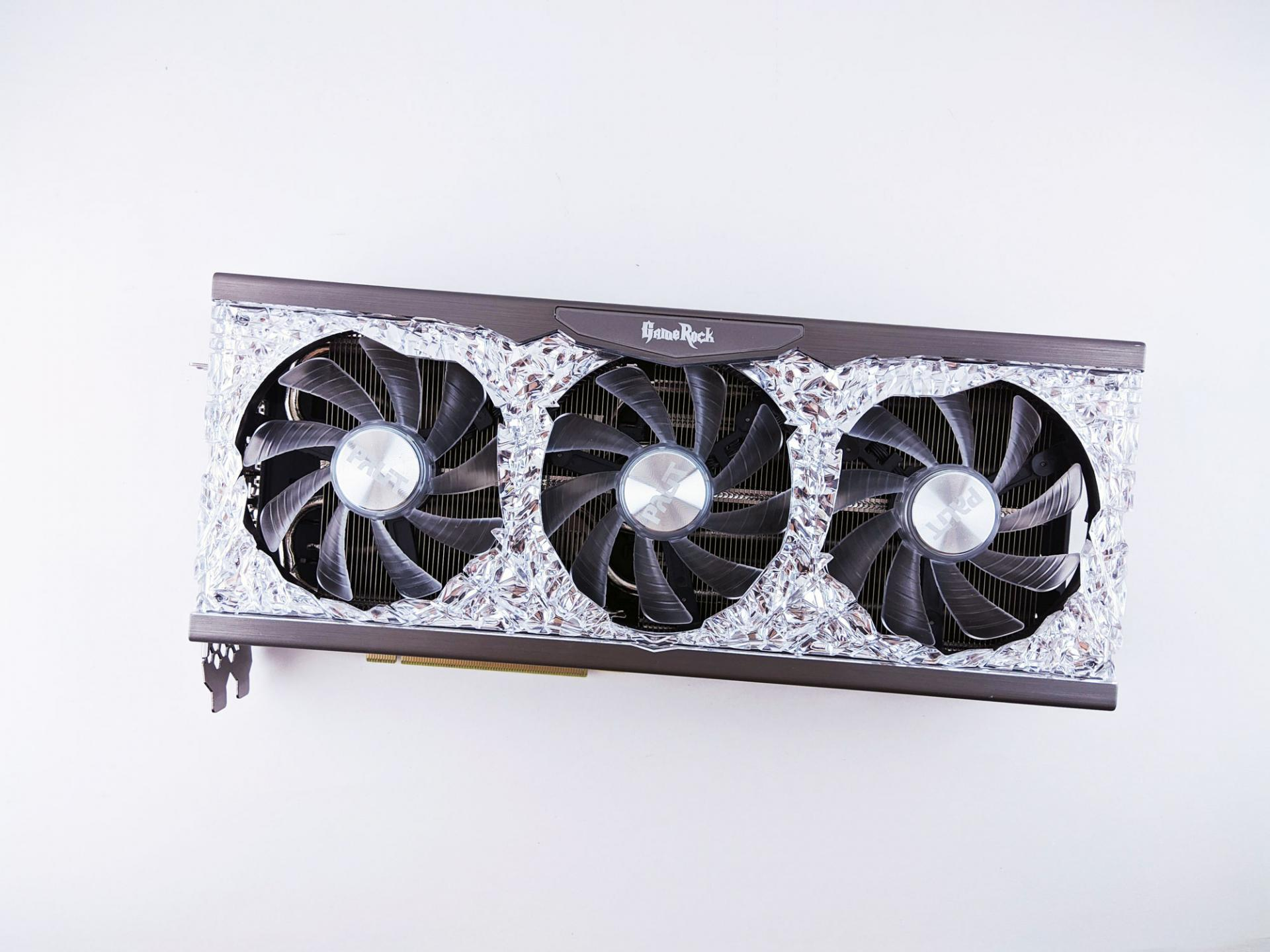Тест-драйв видеокарты Palit GeForce RTX 3070 GameRock OC