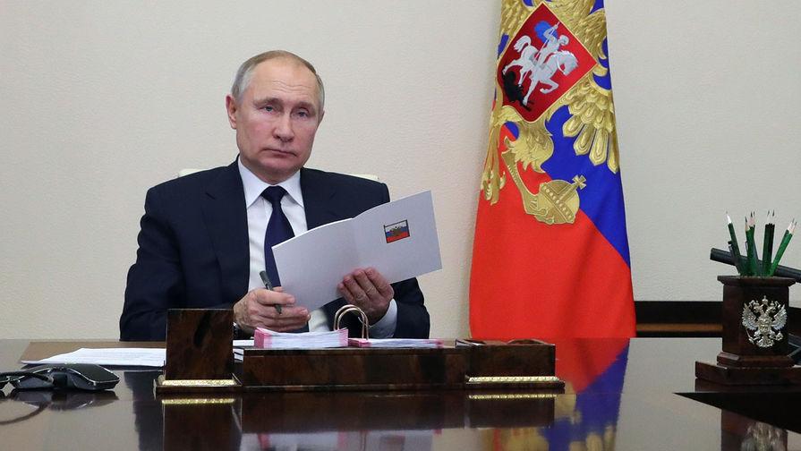 Путин подписал указ о военных сборах для граждан в запасе