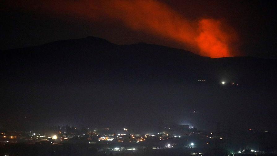 SANA: Израиль атаковал гражданский склад в Сирии