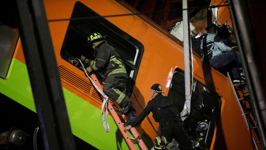 Спасатели завершили поиск выживших на месте обрушения метромоста в Мехико