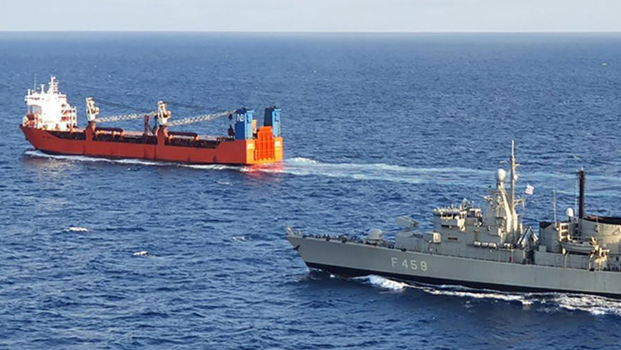 Владелец российского судна рассказал о высадке солдат НАТО на борт