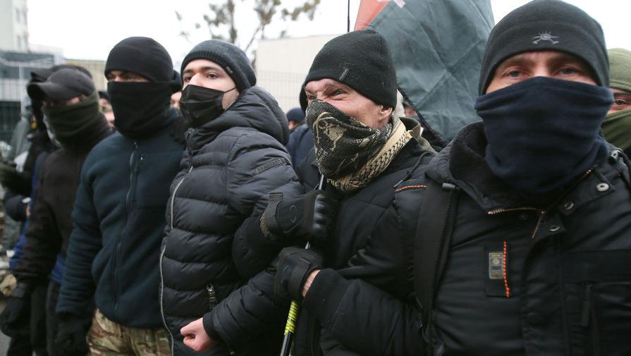 Свыше 2 тысяч человек приняли участие в акции протеста в Киеве