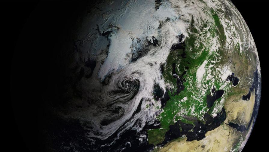 Роскосмос показал кольцеобразное затмение Солнца из космоса