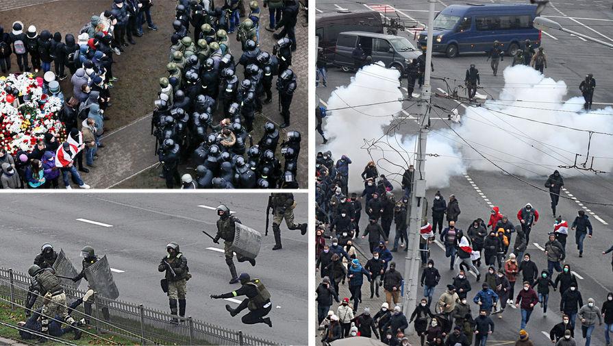 Свыше 300 человек задержали на акциях протеста в Белоруссии