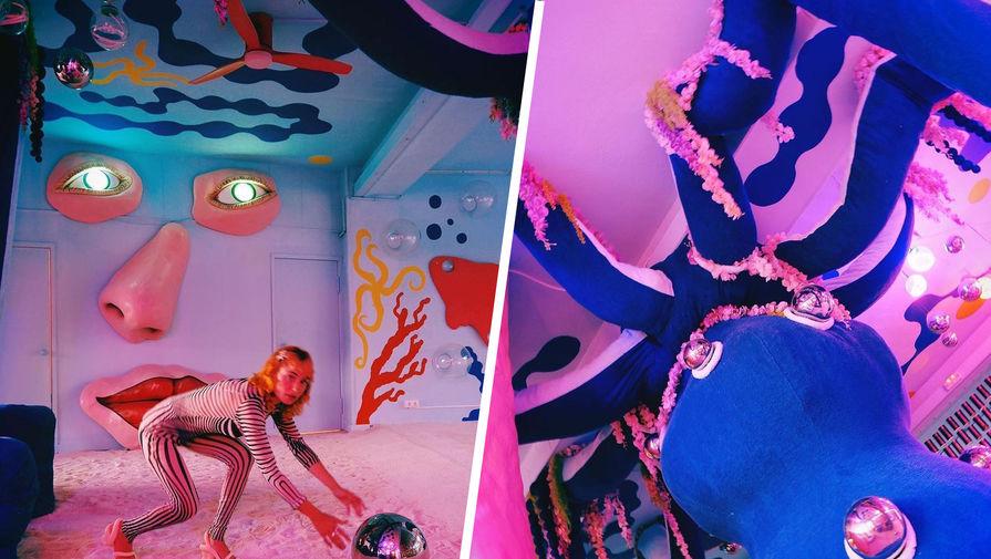 Дэвид Линч открыл ночной клуб с огромным осьминогом