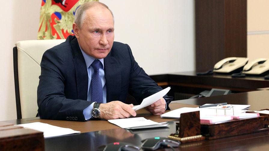 Путин заявил, что его не беспокоят оскорбления со стороны Байдена